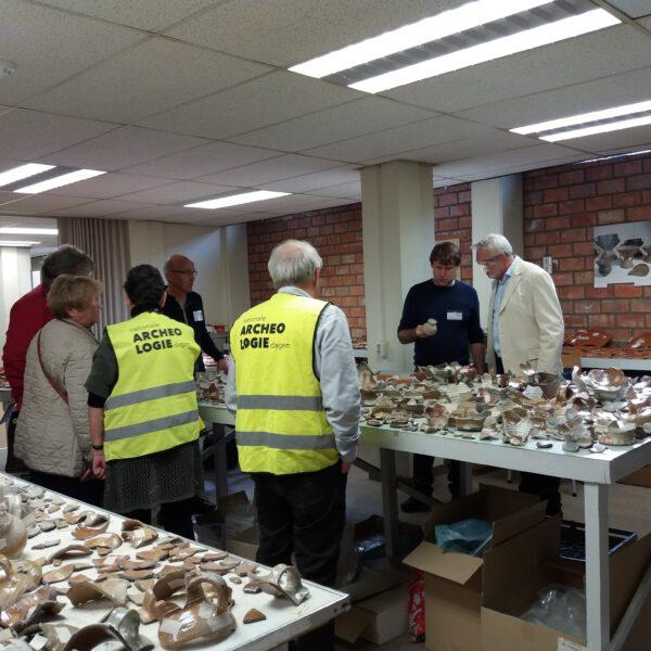 Open dag Archeologisch Depot